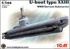 1/144 WWII German U-Boat Type XXIII Submarine - ICM 4
