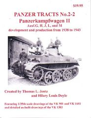 Panzer Tracts No.2-2 PzKpfw II Ausf G/H/J/L/M