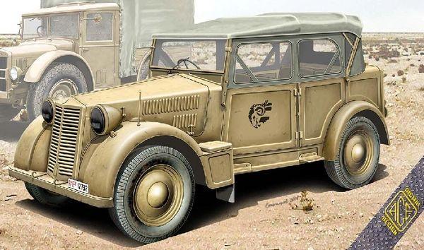 1/72 508CM Colonial Italian Light Car - ACE 72548