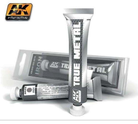 True Metal Wax Iron 20ml Tube - AK Interactive 459