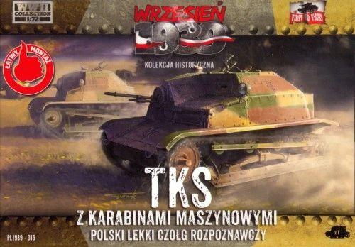 1/72 WWII TKS w/Machine Gun - First to Fight 015