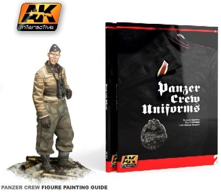 Panzer Crew Uniforms Painting Guide Book - AK Interactive 272