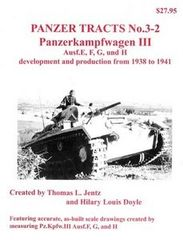 Panzer Tracts No.3-2 PzKpfw III Ausf E/F/G/H