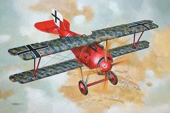 1/32 Siemens Schuckert D III Late Production WWI German BiPlane Fighter - Roden 610