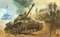 1/72 IS3 Stalin Soviet Tank 1944 - Roden 701