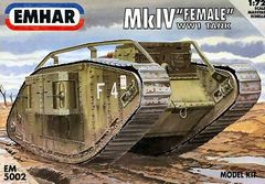 1/72 WWI Female Mk IV Tank - Emhar 5002