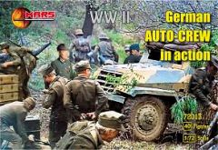 1/72 WWII German Auto Crew in Action (40) - MARS 72013