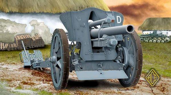 1/72 German leFH18/18M 105mm Field Howitzer - ACE 72216