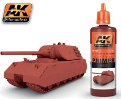 Red Acrylic Primer 60ml Bottle - AK Interactive 180