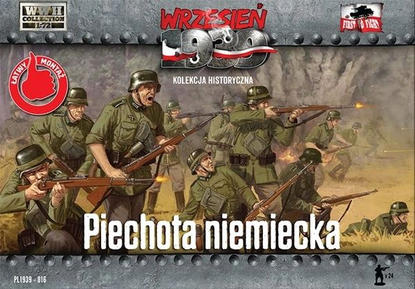 1/72 WWII German Infantry 1939 (24) - First to Fight 016