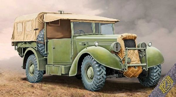 1/72 Super Snipe Lorry 8cwt (FFW) Military Truck - ACE 72552