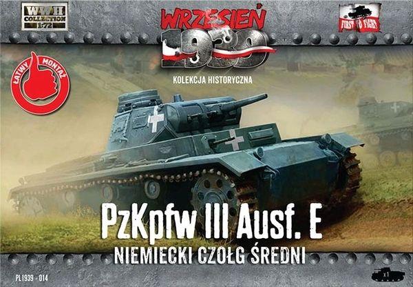 1/72 WWII Pz.Kpfw.III Ausf.E German Medium Tank - First to Fight 014