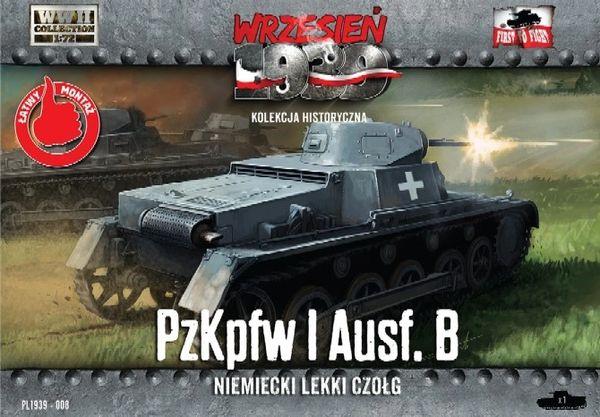1/72 Pz.Kpfw.I Ausf.B German Light Tank - First to Fight 008