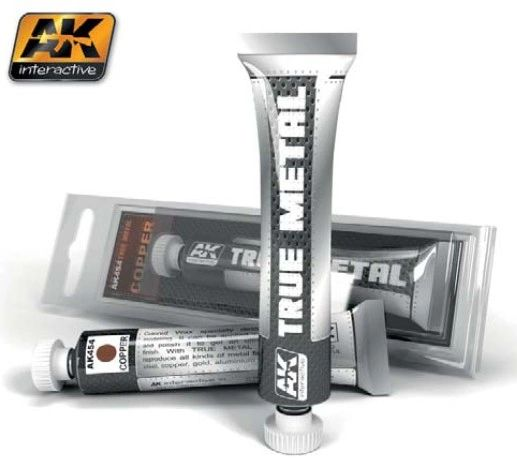 True Metal Wax Copper 20ml Tube - AK Interactive 454