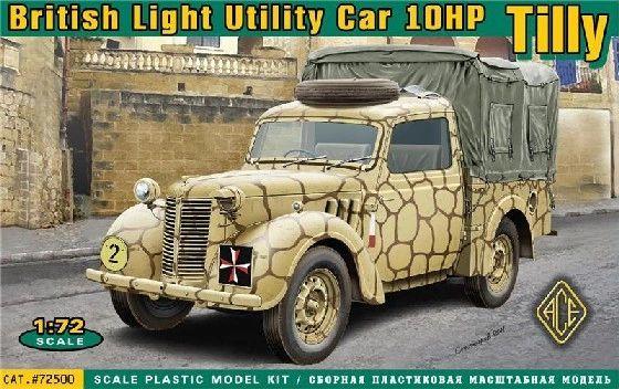 1/72 British 10hp Tilly Light Utility Car - ACE 72500