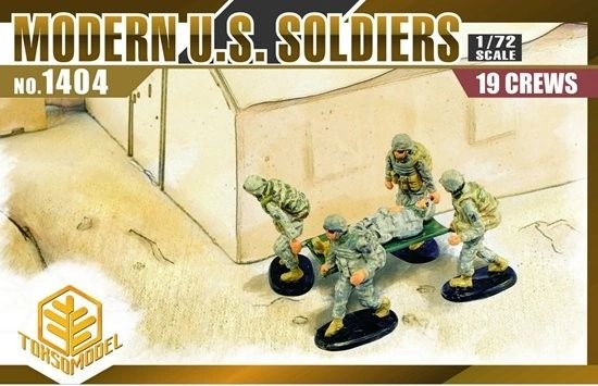 1/72 Modern US Soldiers (19) - TOXSO 1404