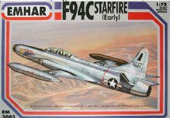 1/72 F94C Early Starfire USAF Interceptor Aircraft - Emhar 3003