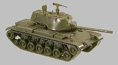 1/87 M47 Patton German Tank - Herpa 221