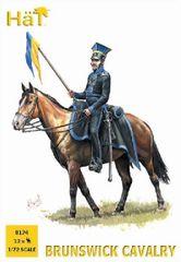 1/72 Napoleonic Brunswick Cavalry (12 Mtd) - HAT-8174