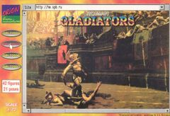 1/72 Roman Gladiators (42) - Orion 72005