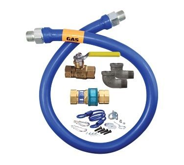 Watts dormont 20-3122kit-48 gas dryer installation kit 48-inch.