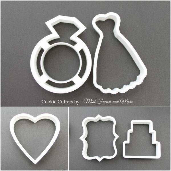 Wedding cake cookie cutter   Unique wedding favors, personalized ...