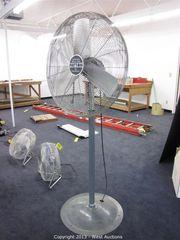 Fan, Pedestal