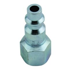 """Hose Coupler, Milton S-728 1/4"""" FNPT M Style Plug"""