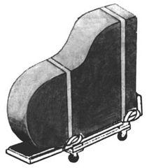 Board, Grand Piano w/ Strap