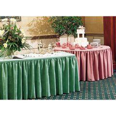 Skirting, Table (Damask Box Pleat)