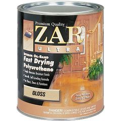 Finish, Zar Ultra Fast Drying Polyurethane (Gallon)