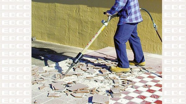 Air Scraper W Ergo Handle Chisel Scaler Edco Big Stick - Air tile scraper