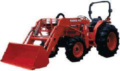 Tractor, Kubota (Trailer Included)