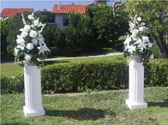 Pedestal, Wedding