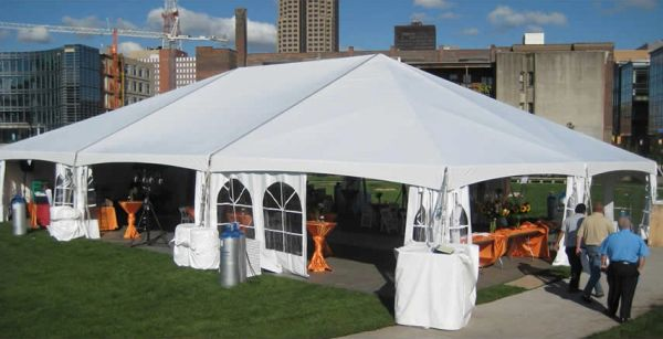 Sidewall Canopy Tent Cathedral Window White Anderson