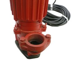 "Pump, Submersible Trash 2"" Electric"