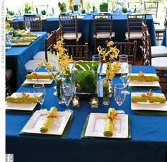 "Tablecloth, Rectangle 72"" x 120"" (Royal Blue)"