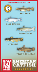 American Catfish Toy Fish Set NOT AVAILABLE YET