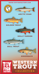 Western Trout Toy Fish Set NOT AVAILABLE YET