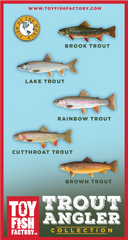Trout Angler Toy Fish Set NOT AVAILABLE YET
