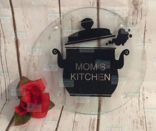 Boiling pot personalized cutting board