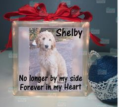 Pet loss gifts, pet Sympathy, loss of Pet, dog memorial gift, dog Loss, dog Memorial, pet loss memorial gift No longer by my side Forever in my heart with picture