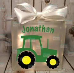 Tractor personalized Night Light