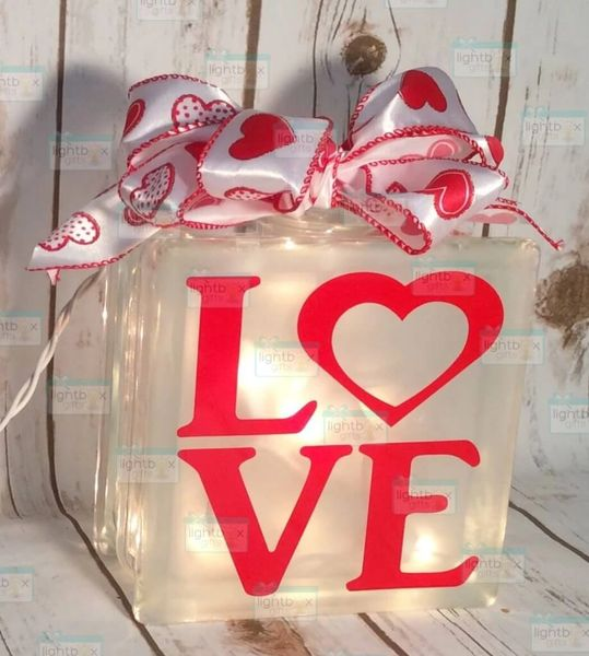 Love with Heart LightBox