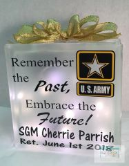 Remember the Past, Embrace the Future! personalized LightBox