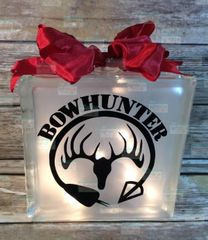 Bowhunter etched glass LightBox