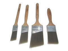 4 piece eco-friendly paint brush set
