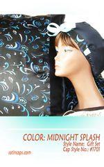Gift Set - Satin Cap & Pillow Cover
