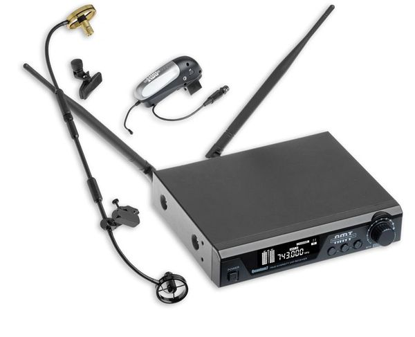 AMT Q7-Ta6 (Wireless Soprano + Tn/Alto/Bari Dual Purpose Microphone)