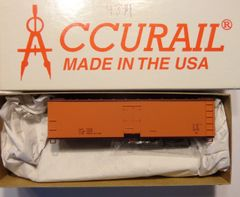 ACCURAIL 4894- 40 FT WOOD REEFER, ORANGE, DATA